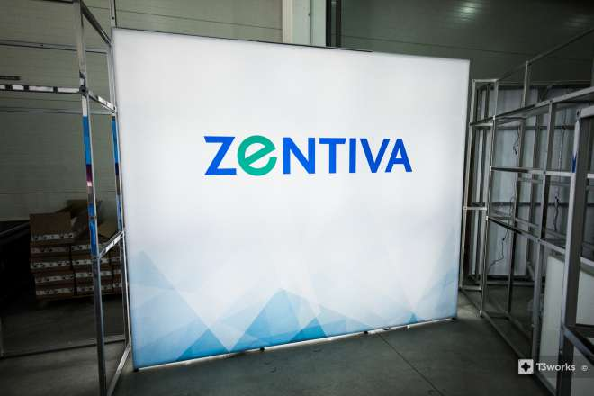Backlit Wall 3 x 2.5 m - Zentiva