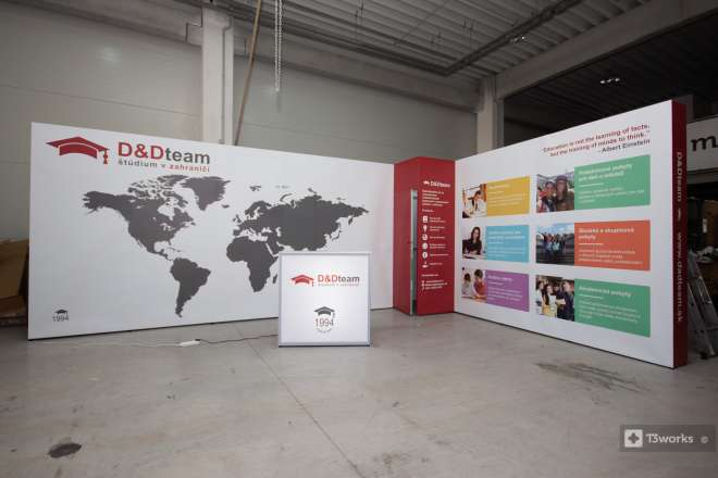 Exhibition stand 6x4m