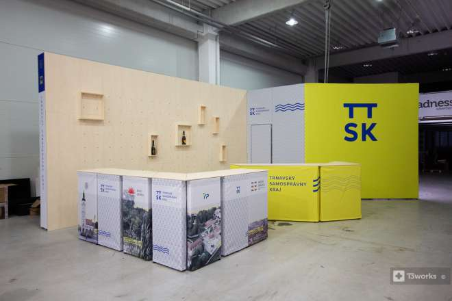Exhibition stand - Self-governing region of Trnava