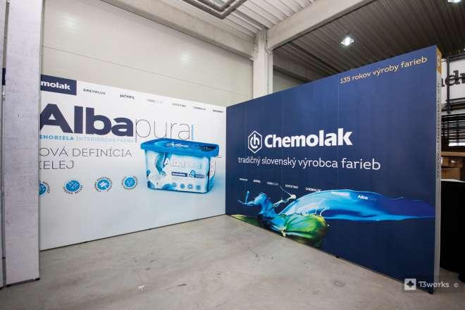 Exhibition stand 4x4m - Chemolak