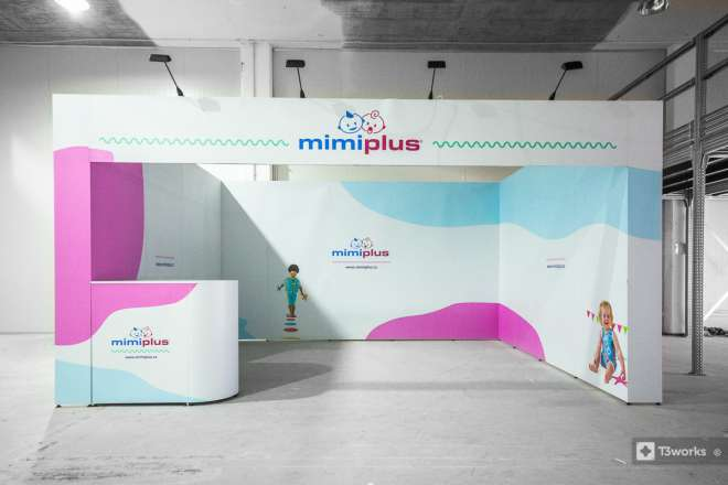 Exhibition stand 5x4m